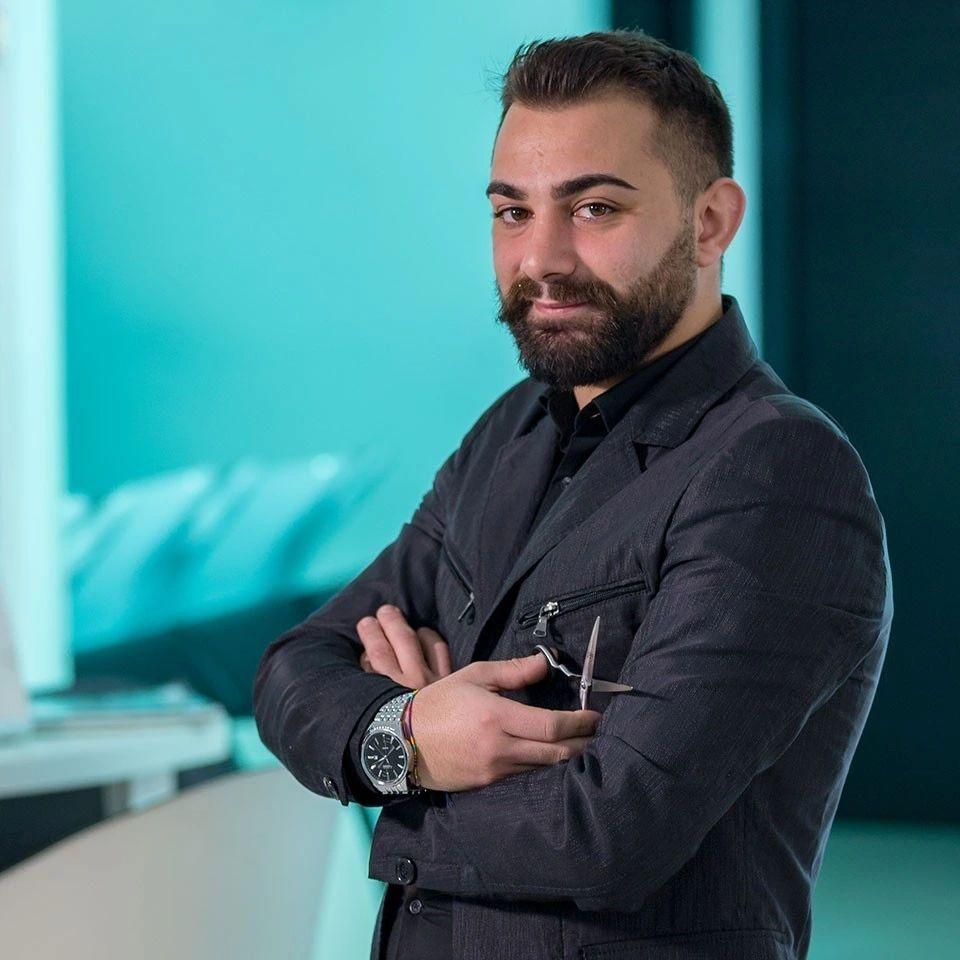 Pasquale De Vivo razor fade team luca barberia